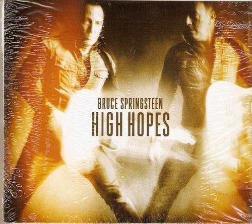 cd + dvd bruce springsteen - high hopes - novo***