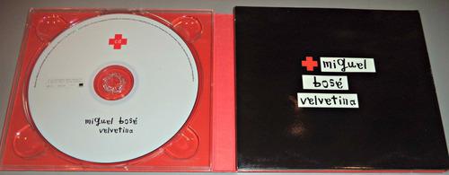 cd + dvd de miguel bose velvetina