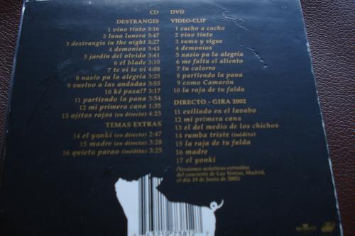 cd + dvd estopa mas destrangis