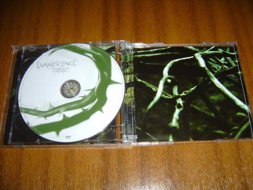 cd + dvd evanescence / anywhere but home (mexico)