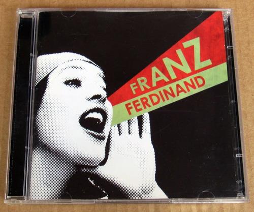 cd + dvd - franz ferdinand - you could do it so **como novo!