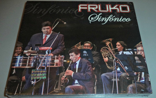 cd + dvd fruko / sinfonico / nuevo