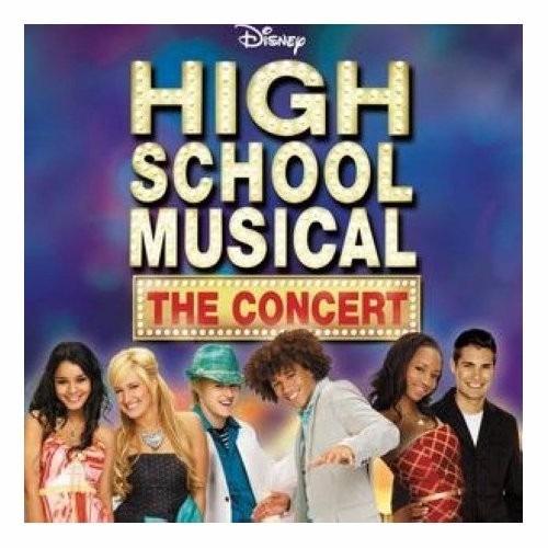 cd + dvd importado de high school musical: the concert