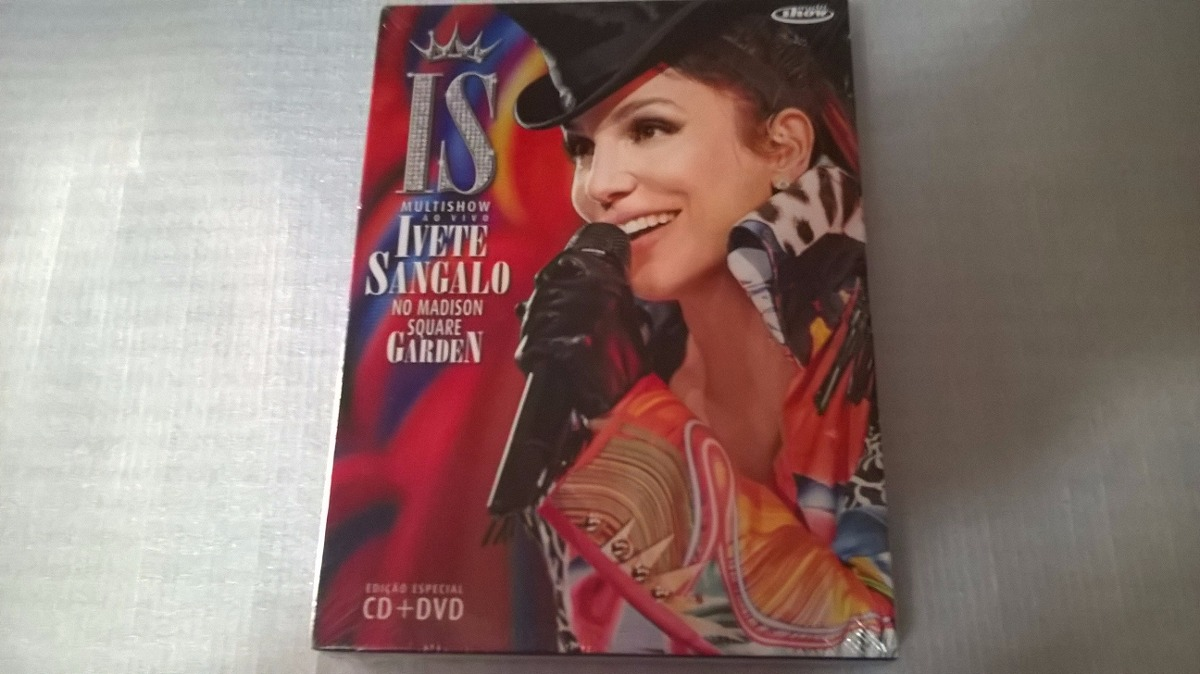 novo cd de ivete sangalo no madison square garden
