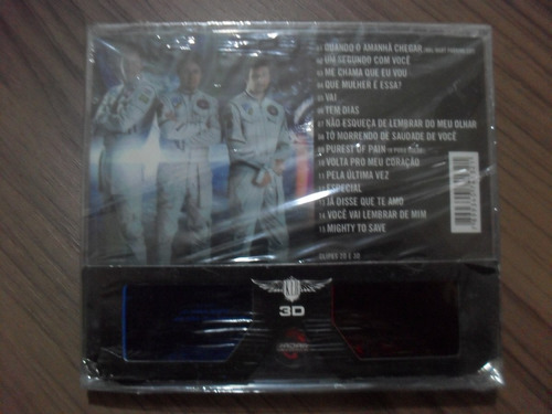 cd + dvd klb 3 d produto lacrado