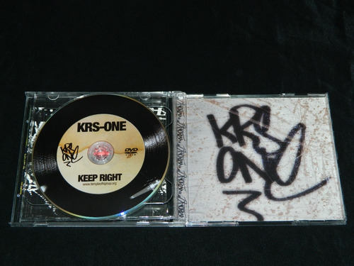 cd+dvd krs-one keep right