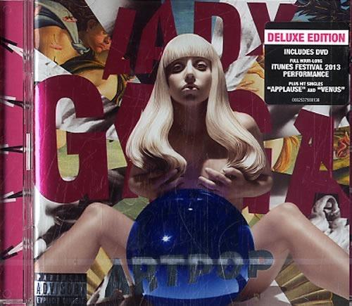 cd+dvd lady gaga -artpop- e-deluxe nuevo en stock