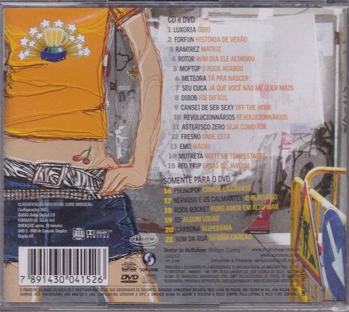 cd + dvd mandou muito bem - forfun luxúria moptop rotor