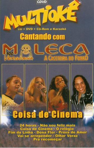 cd - dvd multioké moleca 100 vergonha original