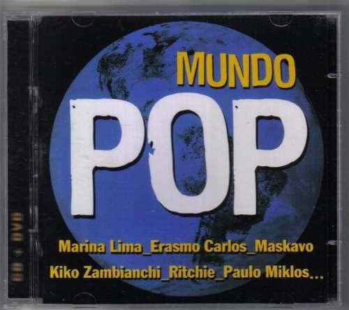 cd + dvd  -  mundo pop  -  novo e lacrado  -  b128b172