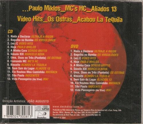cd / dvd mundo rock - nada a declarar - novo***