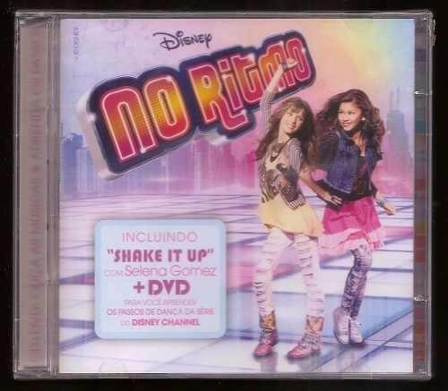 cd + dvd no ritmo - disney
