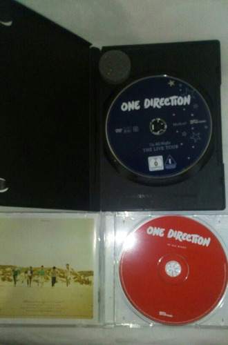(cd +  dvd) one direction up all night.