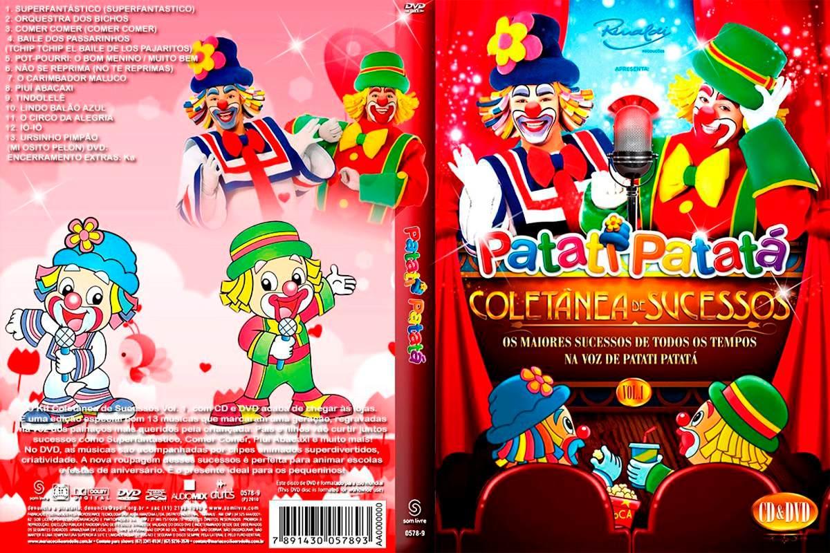 o dvd do patati patata coletanea de sucessos