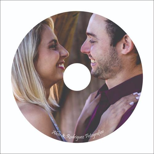 cd/ dvd personalizado em mídia virgem 100 unidades