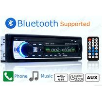 Radio Para Auto Estéreo Bluetooth Fm Mp3 Usb/puertosd Auxili