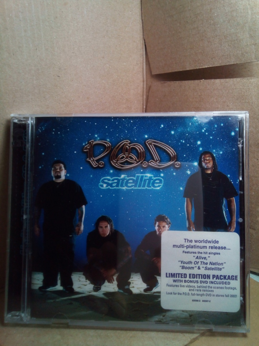 Cd + Dvd P o d  Satellite Limited Edition Importado - $ 350 00