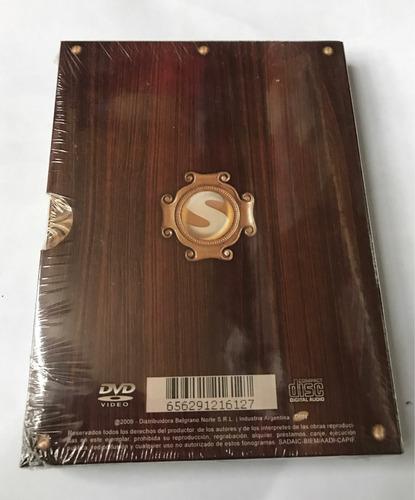 cd + dvd sabroso  tributo 2   nuevo original sellado