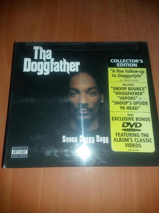 Cd+dvd Snoop Dogg - Tha Doggfather (2 Discos) - $ 15 000