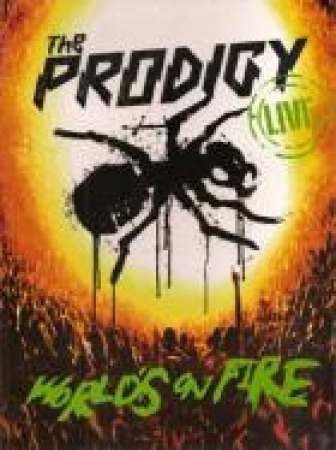 cd + dvd the prodigy - live world's on fire original lacrado