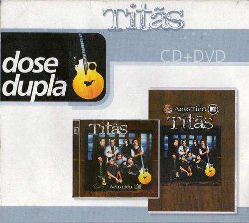 cd + dvd titãs - acústico mtv