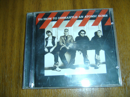 cd+dvd u2 / how to dismantle an atomic bomb