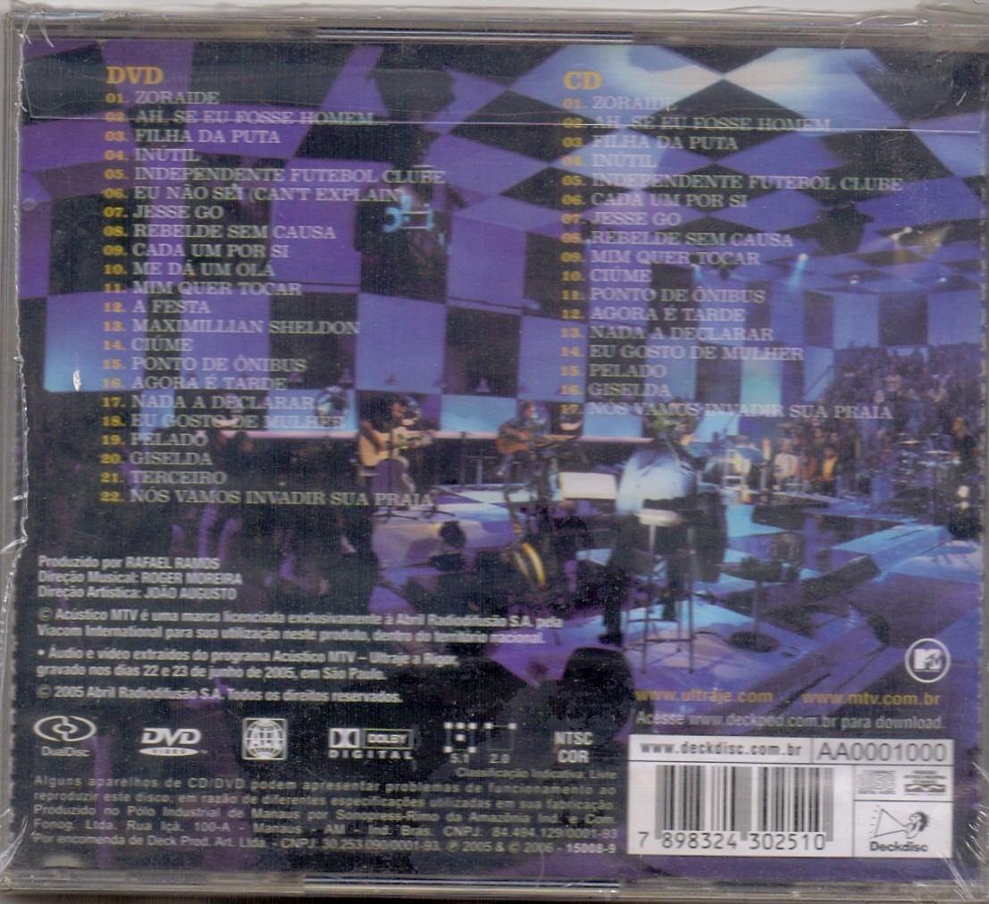 GRATIS A BAIXAR ACUSTICO CD ULTRAJE RIGOR