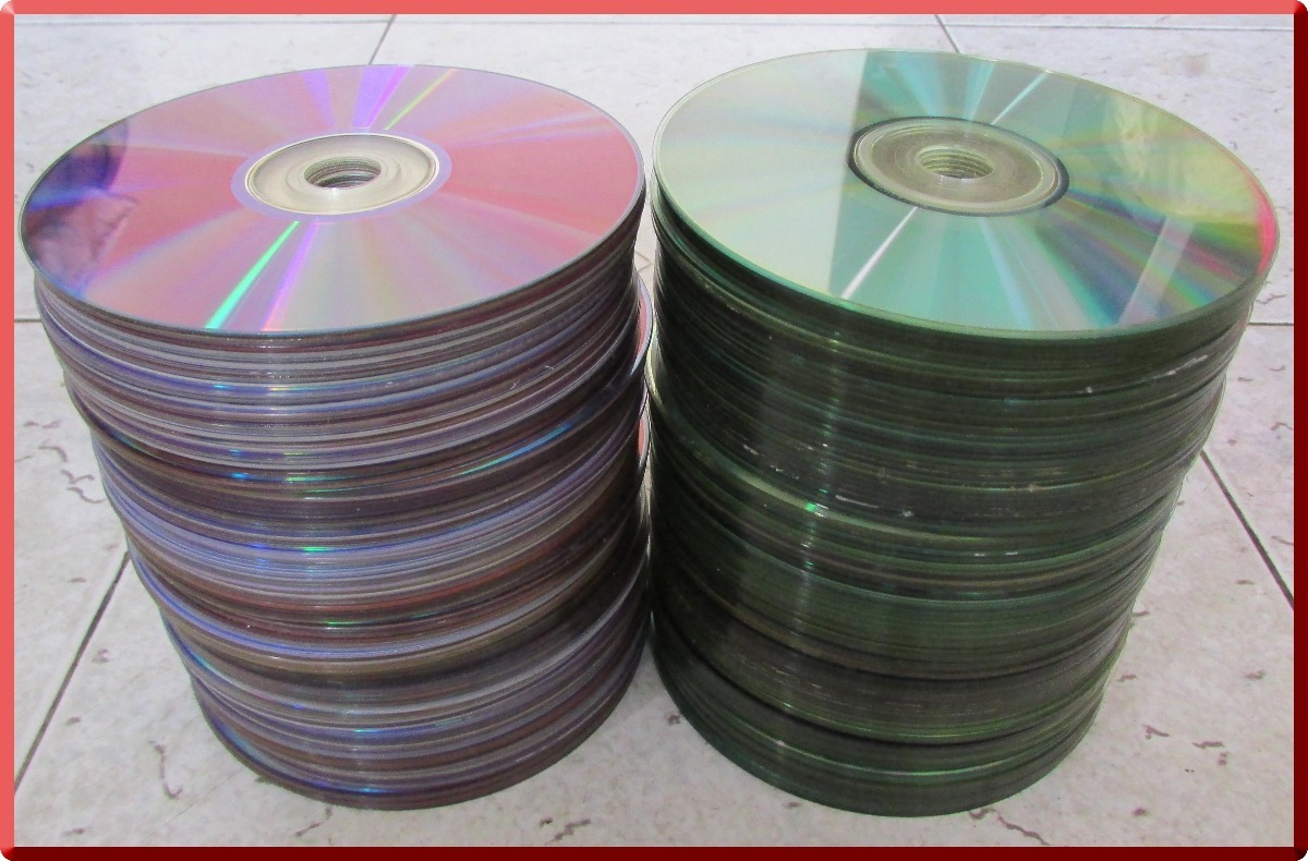 Cd Dvd Usados Para Decoracion Manualidades Bs 25000 En Mercado Libre - Decoracin-manualidades