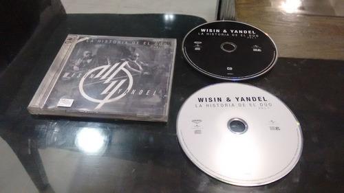 cd-dvd wising and yandel la historia del duo formato cd-dvd