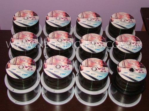 cd e dvd personalizado por r$ 1,20/unidade