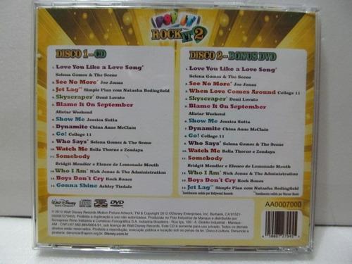 cd e dvd pop it rock it 2 arte som