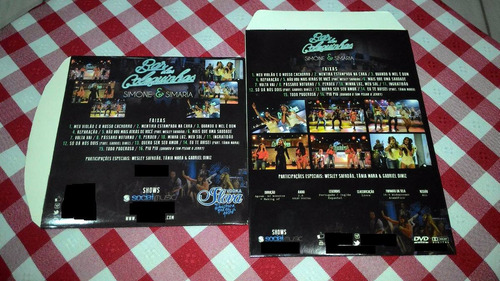 cd e dvd simone e simaria bar das coleguinhas