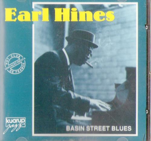 cd earl hines - basin street blues - novo***