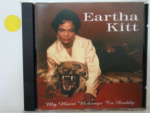 cd - eartha kitt - my heart belng to daddy - importado