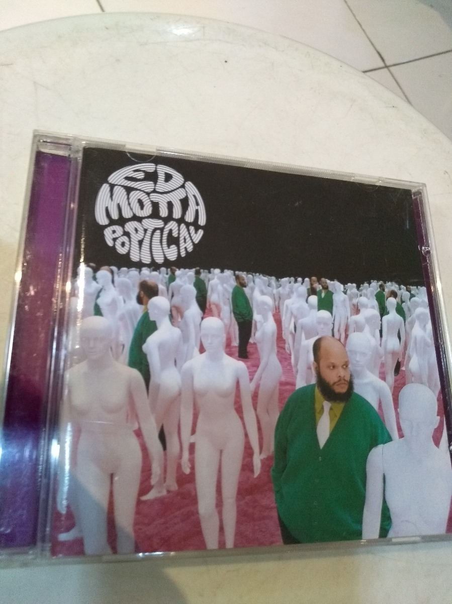 cd ed motta dvd poptical ao vivo