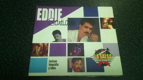 cd eddie santiago   exitos   la salsa y su historia