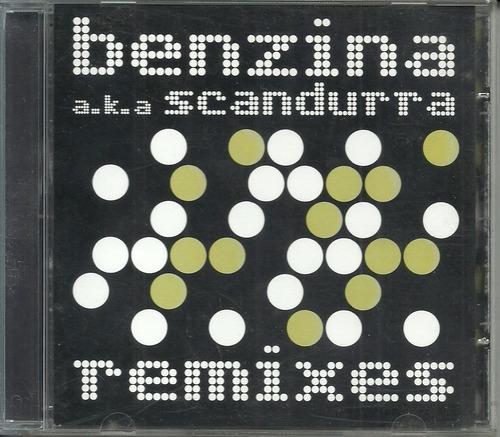 cd edgard scandurra - a.k.a. benzina - remixes - 2004 ira!