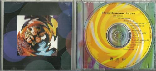 cd edgard scandurra - benzina - 1997 - ira!