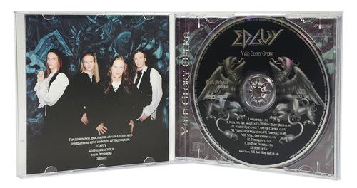 cd edguy - vain glory opera (lacrado)r$ 29,90 + frete
