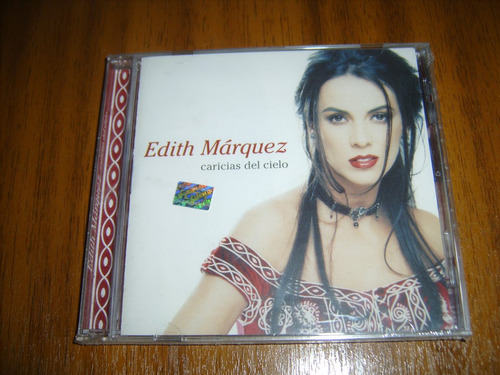 cd edith marquez / caricias del cielo (sellado) chile 2001