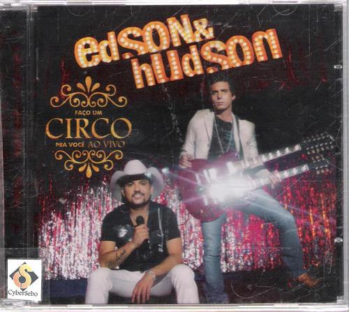 cd edson e hudson - faço um circo pra você ao vivo - novo