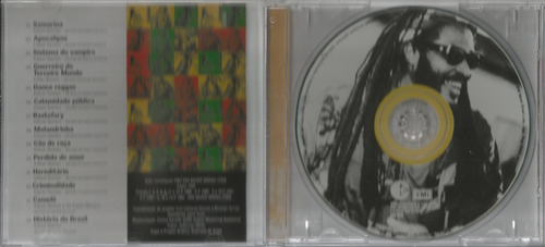 cd edson gomes - samarina - 2004 - coletânea