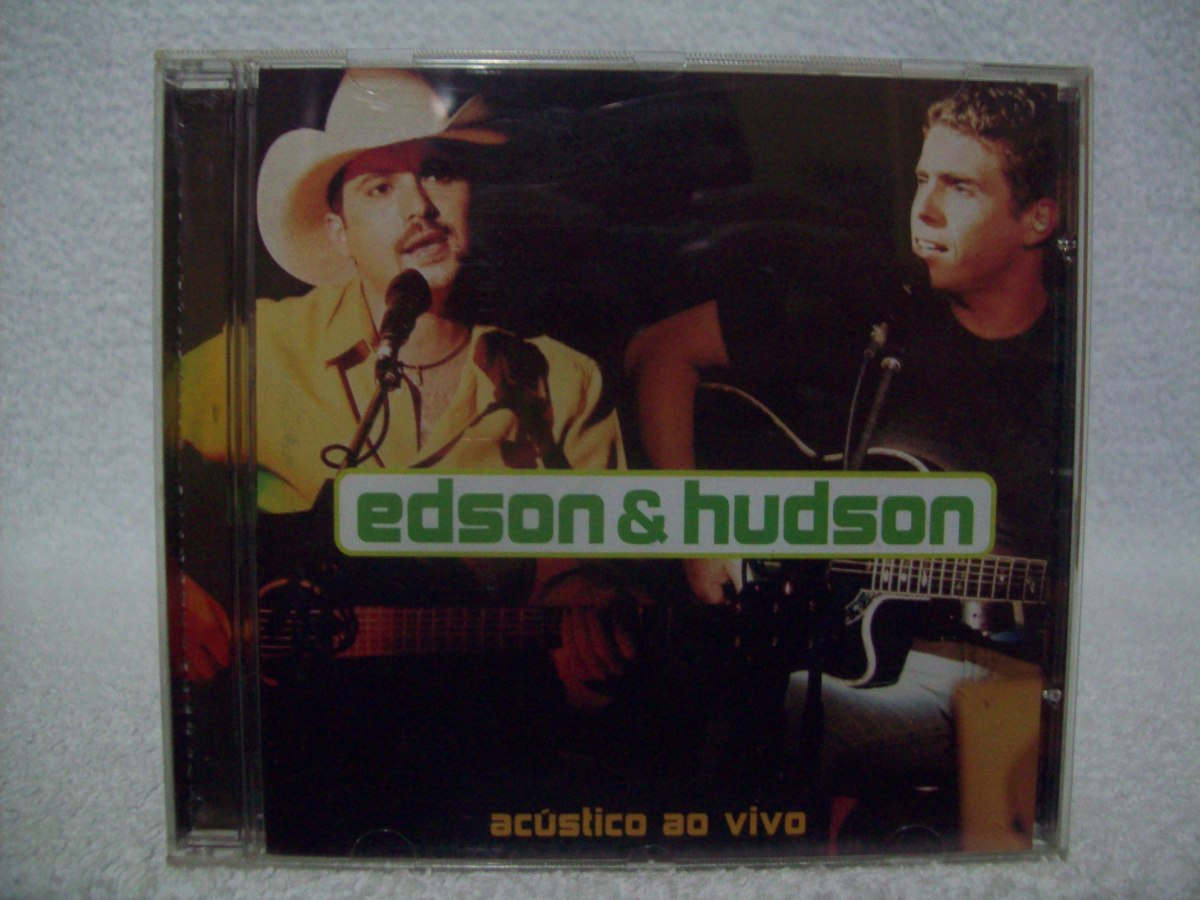 cd edson e hudson acustico 2002