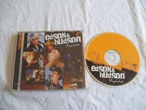 cd - edson & hudson - despedida - sertanejo