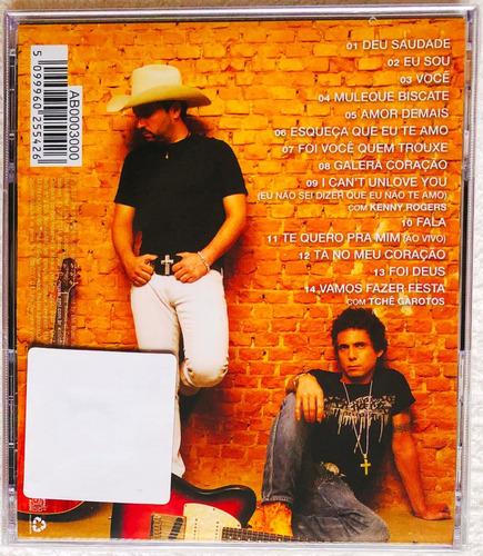 cd edson & hudson deu saudade 2012 lacrado original em estoq