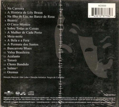 cd edu lobo e chico buarque - álbum de teatro - novo***