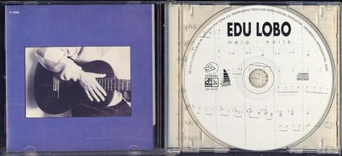 cd edu lobo - meia-noite - 1995 - importado