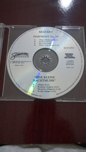 cd eine k nachtmusik  / mozart nº 29-importado-frete grátis
