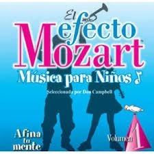 cd el efecto mozart música para niños vol. 1