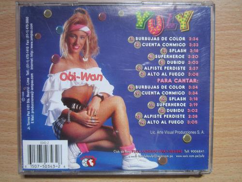 cd el show de yuly - burbujas de color - nubeluz yola karina